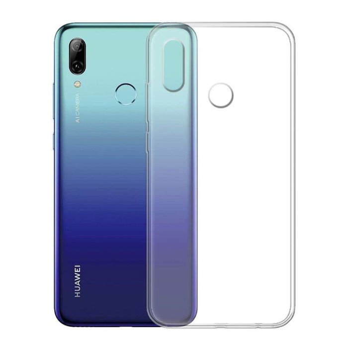 Transparant Clear Case Cover Silicone TPU Hoesje Huawei P Smart 2019