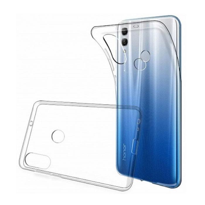 Étui transparent transparent en silicone TPU Huawei Y7 2019