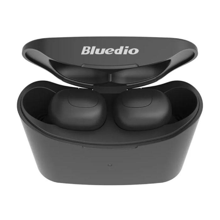 Bluedio T-Elf Mini TWS Draadloze Bluetooth 5.0 Oortjes Ear Wireless Buds Earphones Earbuds Oortelefoon Zwart