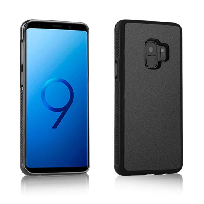 Samsung Galaxy S6 Edge - Anti-Schwerkraft-Absorptionsgehäuse Abdeckung Cas Case Black