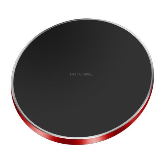 Chargeur Sans Fil Universel Qi GY-68 9V - Chargeur Sans Fil 1.67A Rouge