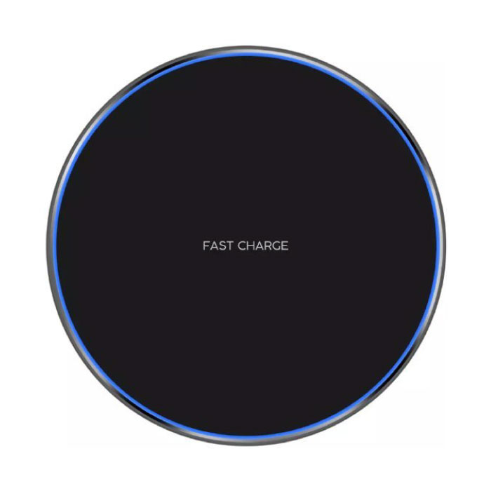 Qi GY-68 Universal Wireless Charger 9V - 1.67A Wireless Charging Pad Black
