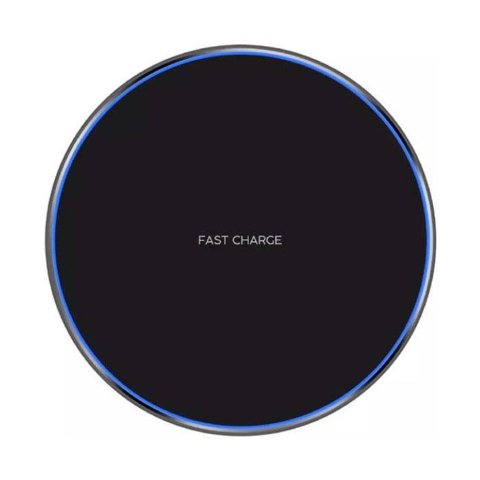 Qi Universal Wireless Charger 5V - 2.1A Pad de charge sans fil noir - Copy