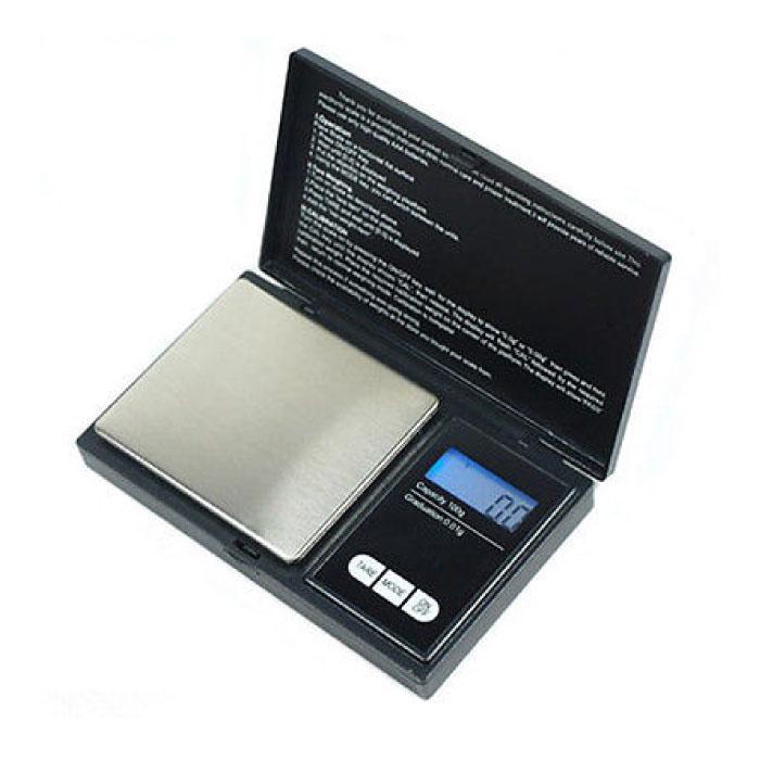 Mini portable Balance LCD Balance de précision numérique Pesant 100 g Scale - 0,01 g