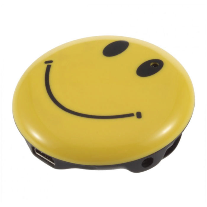 Smiley Dashcam DVR 720p Beveiligingscamera Met Microfoon