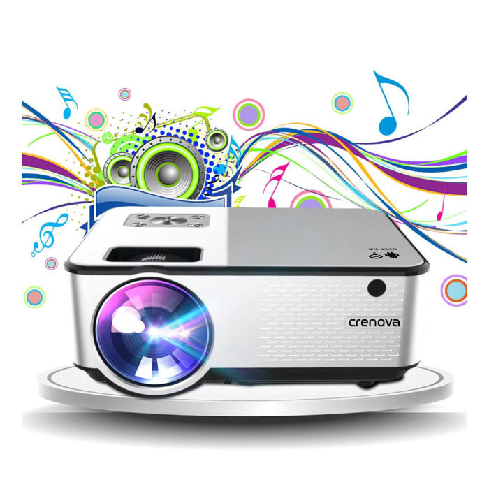 C9 LED Projector met Android en Bluetooth - Beamer Home Media Speler