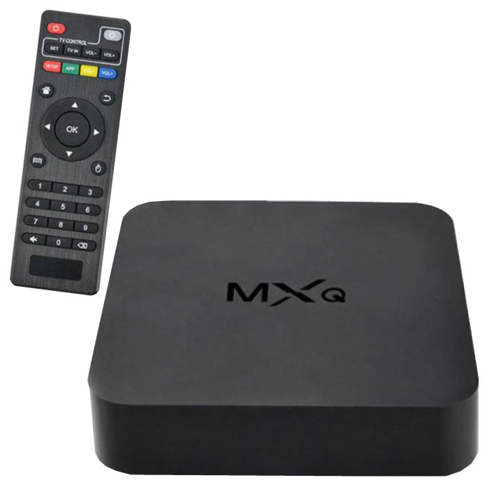MXQ TV HD Media Player Box Android Kodi - 1 Go de RAM - 2 Go de stockage