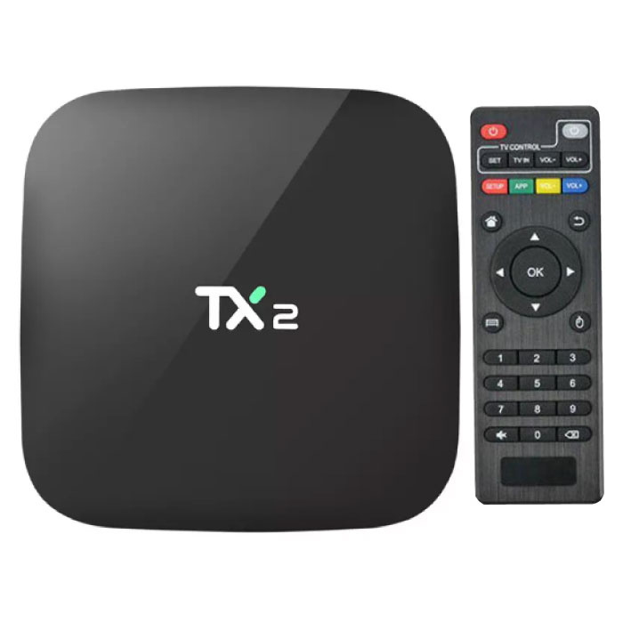 TX2 4K TV Box Media Player Android Kodi - 2 GB RAM - 16 GB Speicher
