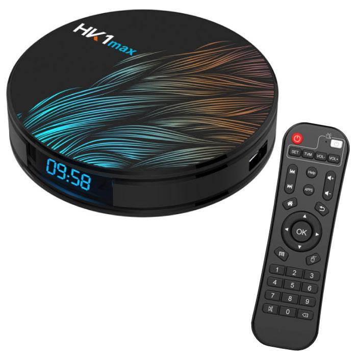 HK1 Max 4K TV-Box Media Player Android Kodi - 4 GB RAM - 128 GB Speicher