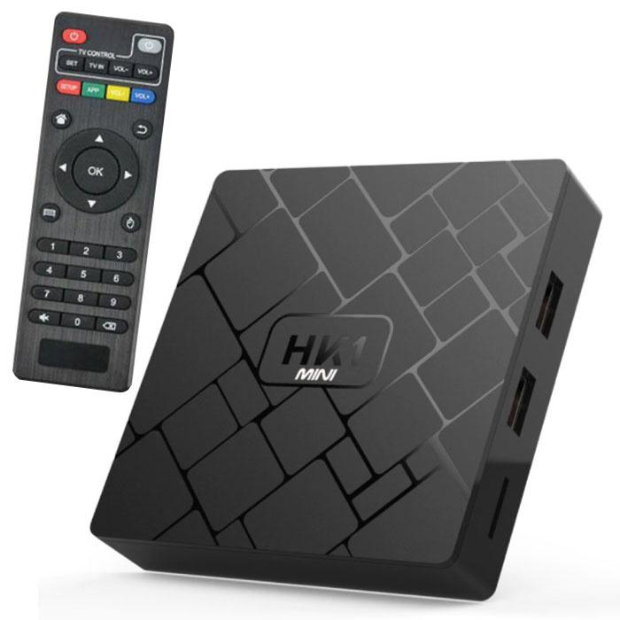 Lecteur multimédia HK1 Mini 4K TV Box Android Kodi - 2 Go de RAM - 16 Go de stockage