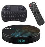 Stuff Certified® HK1 Max 4K TV Box Mediaspeler Android Kodi - 4GB RAM - 128GB Opslagruimte + Draadloos Toetsenbord