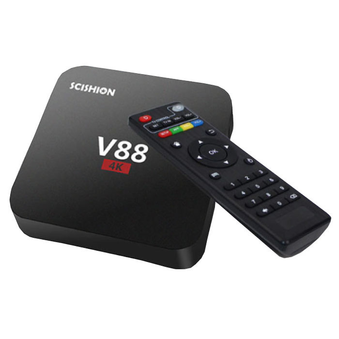 V88 4K TV Box Media Player Android Kodi - 1 Go de RAM - 8 Go de stockage