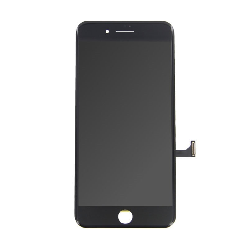 8 iPhone Plus screen (Touchscreen + LCD + Parts) A + Quality - Black