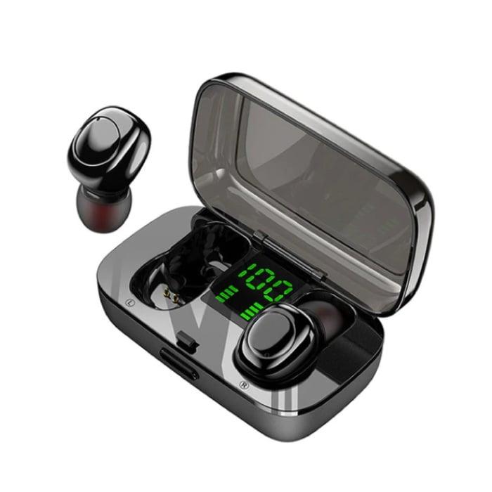XG23 TWS Smart Wireless Touch Control écouteurs Bluetooth 5.0 sans fil Cosses Air Écouteurs Oreillettes 450mAh Noir
