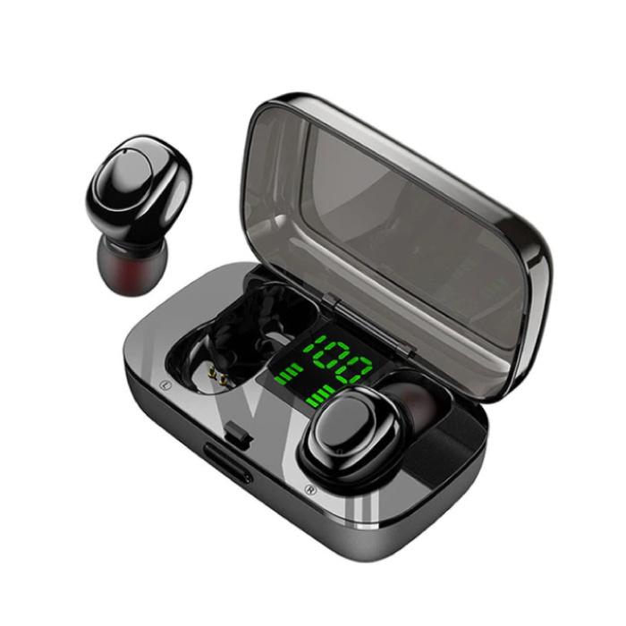 XG23 TWS Wireless Smart Touch Control Earphones Bluetooth 5.0 Air Wireless Pods Earphones Earbuds 450mAh Black
