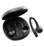 Caletop Sport TWS Draadloze Smart Touch Control Oortjes Bluetooth 5.0 Air Wireless Pods Earphones Earbuds 400mAh Blauw