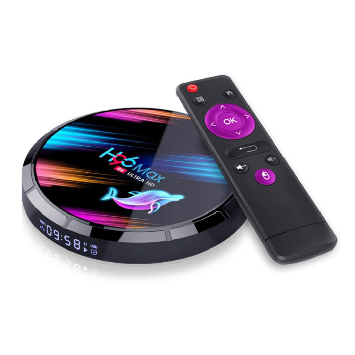 Stuff Certified® H96 Max 8K TV Box Mediaspeler Android Kodi - 4GB RAM - 128GB Opslagruimte