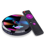 Stuff Certified® H96 Max 8K TV Box Mediaspeler Android Kodi - 4GB RAM - 32GB Opslagruimte + Draadloos Toetsenbord