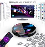 Stuff Certified® H96 Max 8K TV Box Mediaspeler Android Kodi - 4GB RAM - 128GB Opslagruimte + Draadloos Toetsenbord