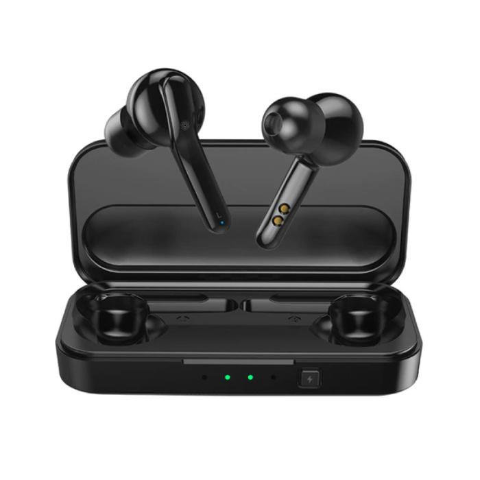 TWS X3 Smart Wireless Touch Control écouteurs Bluetooth 5.0 sans fil Cosses Air Écouteurs Oreillettes 430mAh Noir
