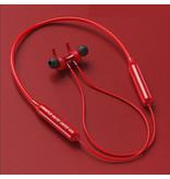 Stuff Certified® DD9 TWS Draadloze Oortjes Bluetooth 5.0 Ear Wireless Buds Earphones Earbuds 100mAh Oortelefoon Rood