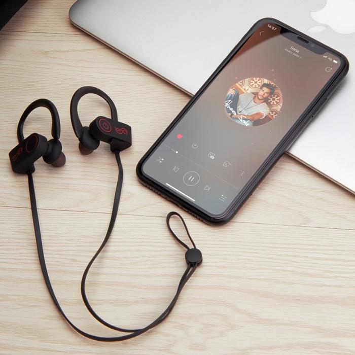 IONCT U8 TWS Draadloze Oortjes Bluetooth 5.0 Air Wireless Pods Earphones Earbuds 110mAh Zwart