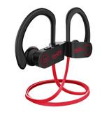 IONCT U8 TWS Draadloze Oortjes Bluetooth 5.0 Air Wireless Pods Earphones Earbuds 110mAh Rood
