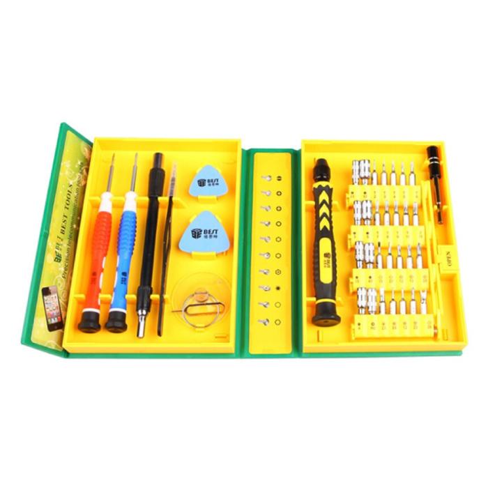 Kit d'outils professionnels 38 en 1 Outils Tournevis Jeu de tournevis - Pour iPhone / iPad / Smartphone / Tablette