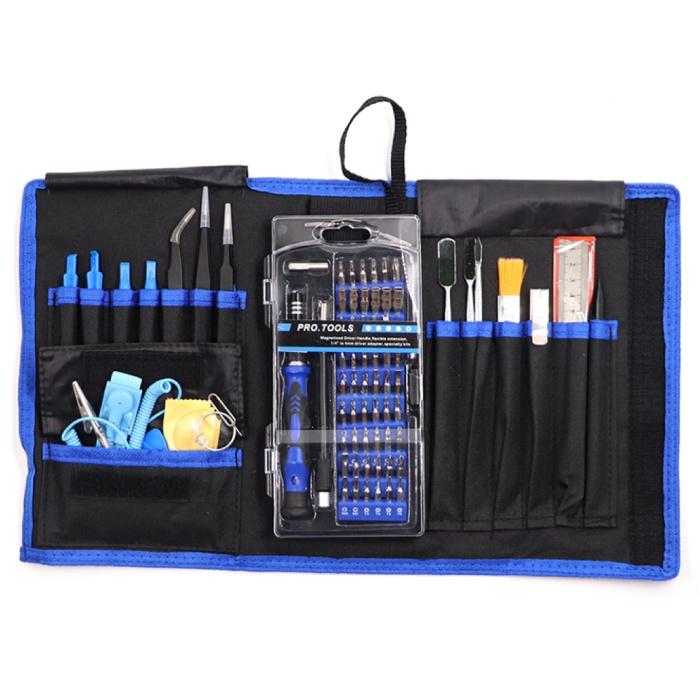 80 in 1 Professioneel Gereedschap Tools Kit Outils Screwdriver Schroevendraaier Set - Voor iPhone / iPad / Smartphone / Tablet