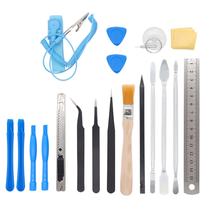 Stuff Certified® 80 dans 1 Outils Outil professionnel Kit tournevis Outils - Jeu d'outils pour iPhone / iPad / Smartphone / Tablet