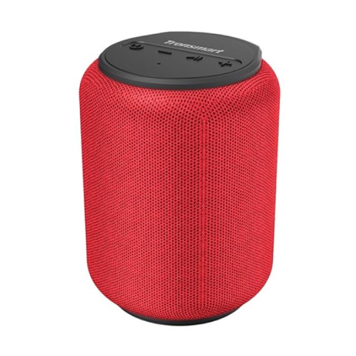 T6 Mini Bluetooth 5.0 sans fil Haut-parleur externe Soundbox Haut-parleur sans fil rouge