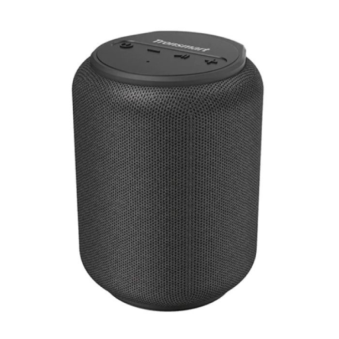 T6 Mini Bluetooth 5.0 Soundbox Haut-parleur sans fil Haut-parleur externe sans fil Noir