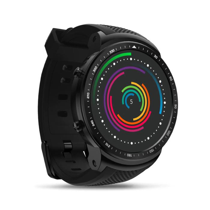 Thor Pro Smartwatch Fitness Sport Aktivität Tracker Smartphone Uhr iOS Android iPhone Samsung Huawei Schwarz