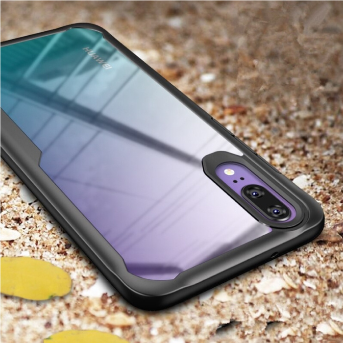 MaxGear Huawei P30 Lite - 7D Airbag Hoesje Case Cover Cas TPU