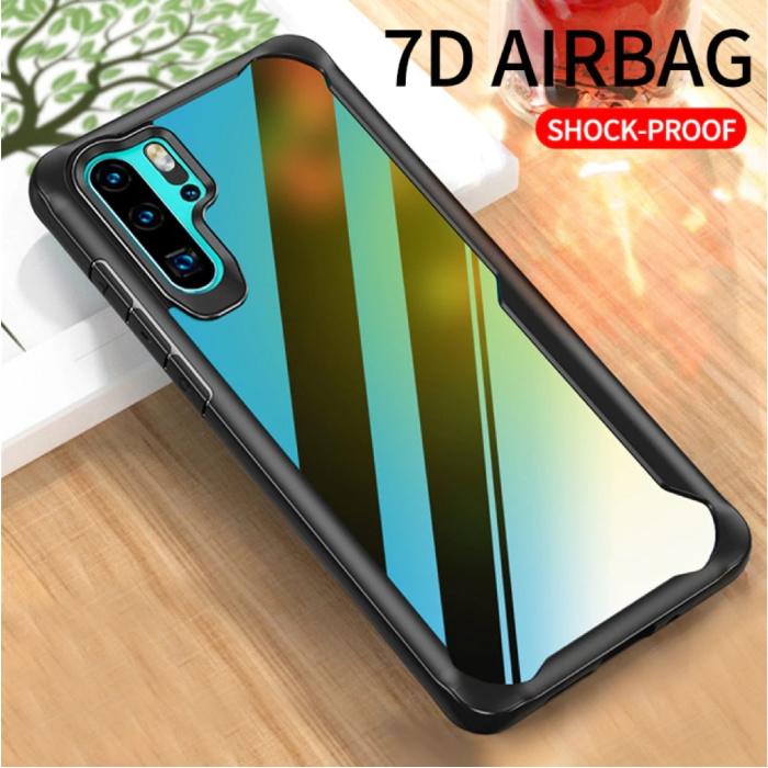 MaxGear Huawei Mate 20 - 7D Airbag Hoesje Case Cover Cas TPU