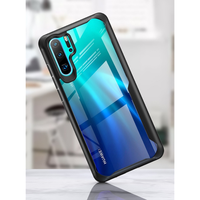 Huawei Y6 2018  - 7D Airbag Hoesje Case Cover Cas TPU