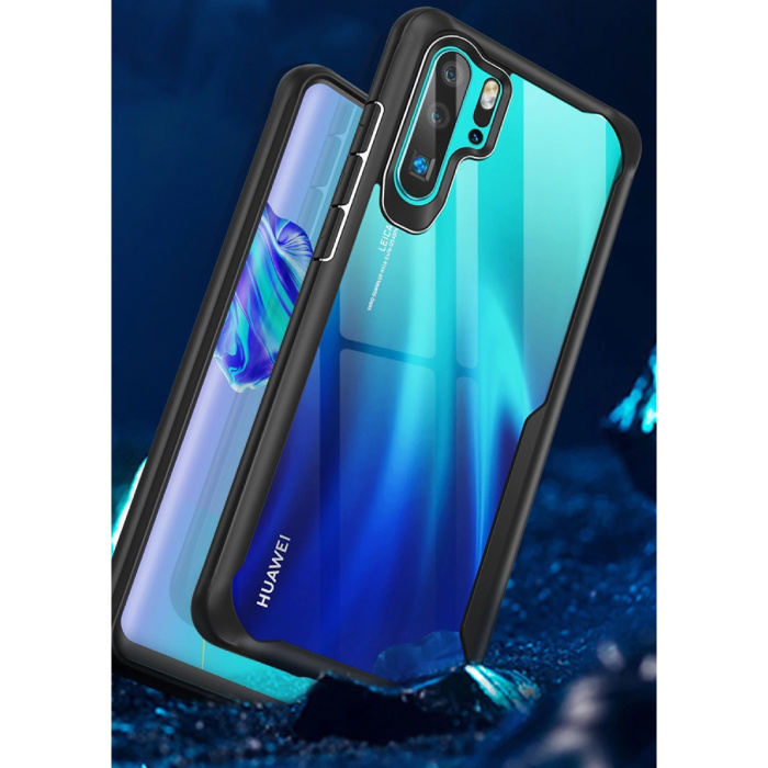 MaxGear Huawei Y6 2019  - 7D Airbag Hoesje Case Cover Cas TPU
