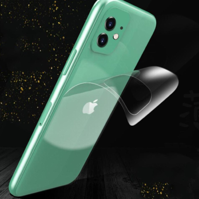 Stuff Certified® iPhone 6S transparent TPU hydrogel film protecteur Housse Etui