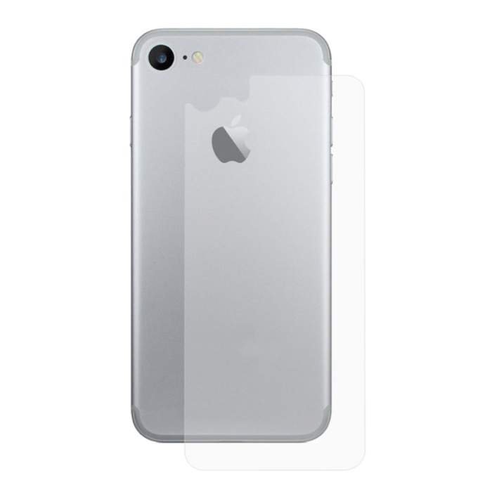iPhone 6S Plus Transparante Achterkant TPU Folie Hydrogel Protector Beschermer Cover Case