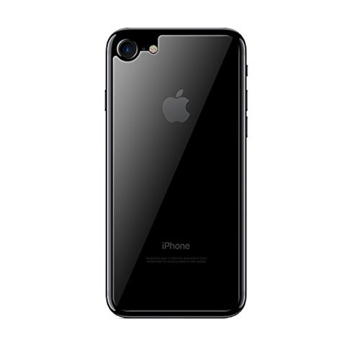 Coque arrière transparente pour iPhone 8 TPU Foil Hydrogel Protector Housse de protection
