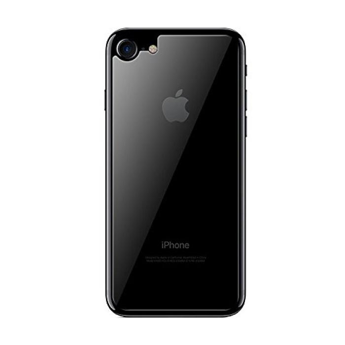 Coque arrière transparente pour iPhone 8 Plus TPU Foil Hydrogel Protector Housse de protection