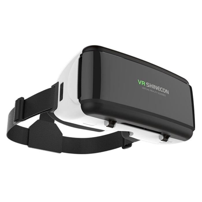 VR Shinecon Verres 90 ° de réalité virtuelle de VR 3D avec la télécommande de Bluetooth pour les smartphones