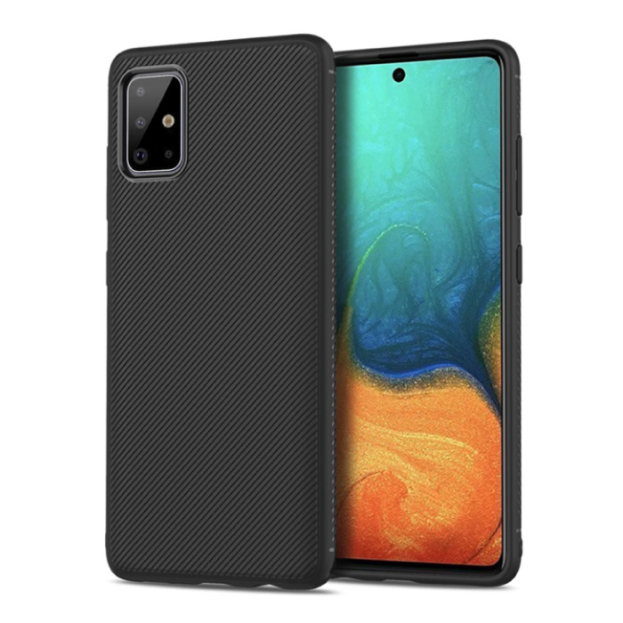 Samsung Galaxy S20 - Matte Case Cover Cas TPU Case Black