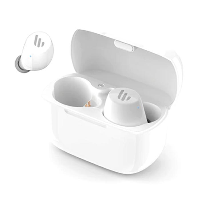 TWS1 écouteurs de contrôle tactile intelligents sans fil Bluetooth 5.0 écouteurs intra-auriculaires sans fil écouteurs écouteurs 500mAh blanc