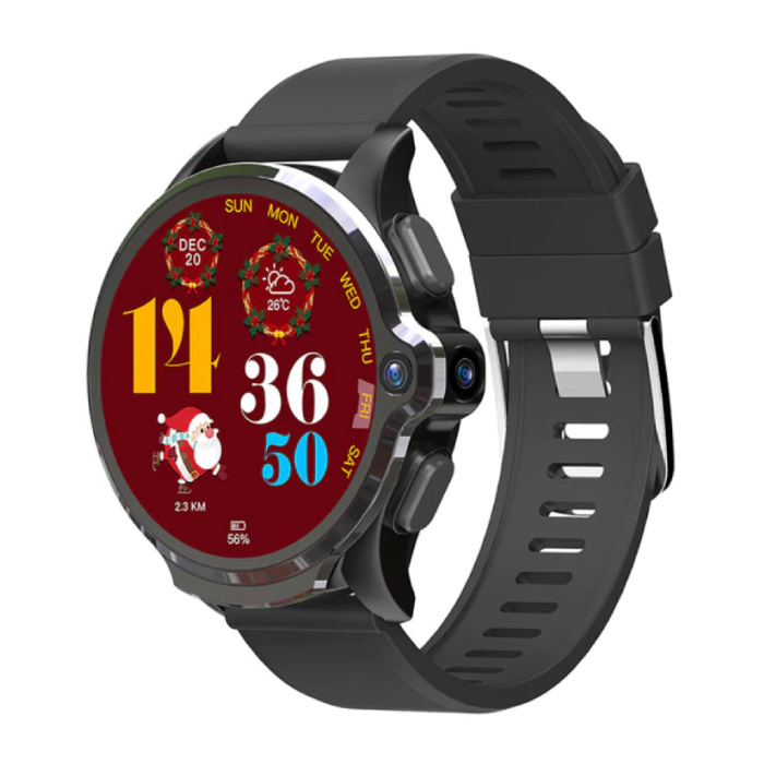 Prime Se Sports Smartwatch Fitness Sport Activity Tracker Smartphone Horloge iOS Android IP68 iPhone Samsung Huawei Zwart