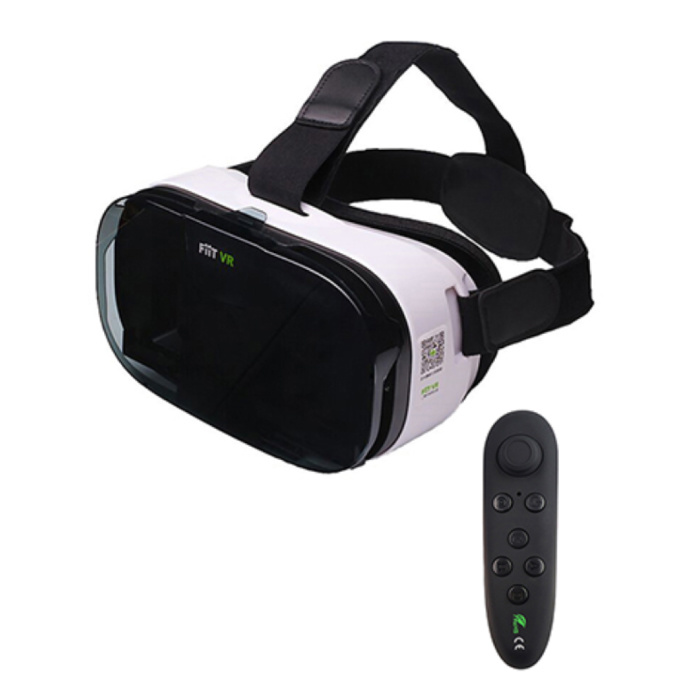 2N VR Virtual Reality 3D Glasses 120 ° With Bluetooth Remote Control for Smartphones