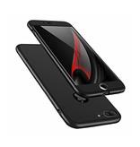 Stuff Certified® iPhone 8 Plus Full Body 360°  Full Cover Hoesje + Screenprotector Zwart