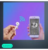 Aicnly X12 TWS Draadloze Oortjes Bluetooth 5.0 Ear Wireless Buds Earphones Earbuds Oortelefoon Blauw