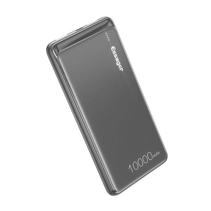 Essager 10.000mAh Externe Powerbank Noodaccu Oplader Charger Batterij