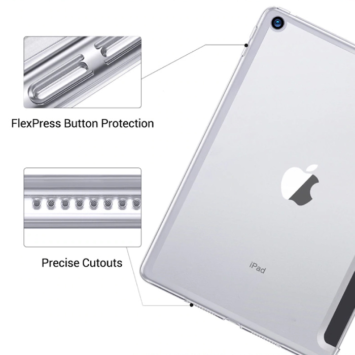 Stuff Certified® iPad Air 3  Leren Vouwbare Cover Hoesje Case Blauw